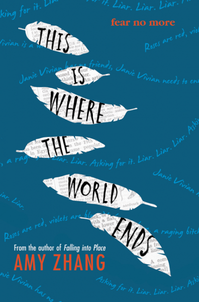 BOOK REVIEW | THIS IS WHERE THE WORLD ENDS BY AMY ZHANG