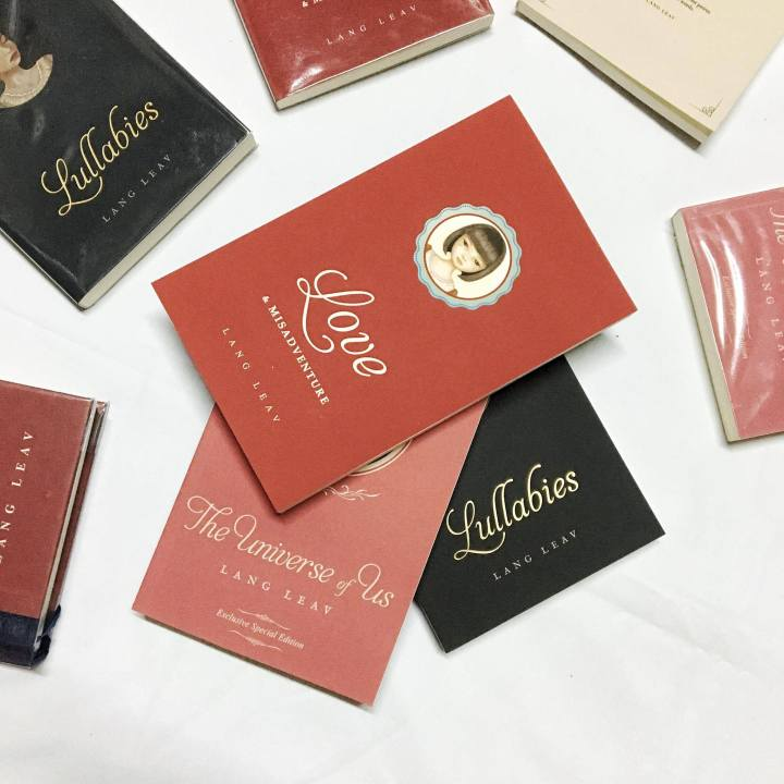 #GIVEAWAY | LANG LEAV BOOKS
