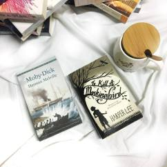 I fell in love with classics the moment I finished reading Wuthering Heights. These two are probably also one of the biggest titles out there. To Kill A Mockingbird National Book Store PHP 215.00 ; Moby Dick National Book Store PHP185.00