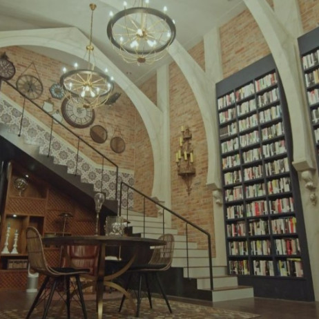 library Chicago Typewriter