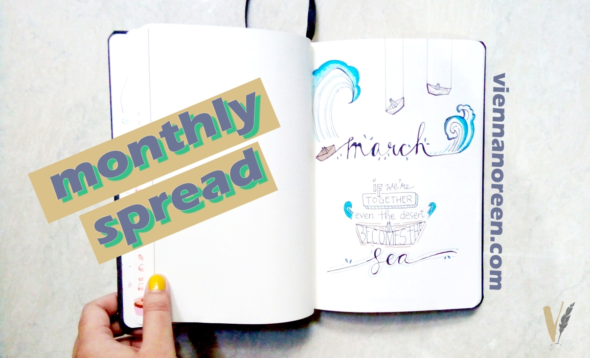 March Journal Spread | Why Do You Like Summer? 😪