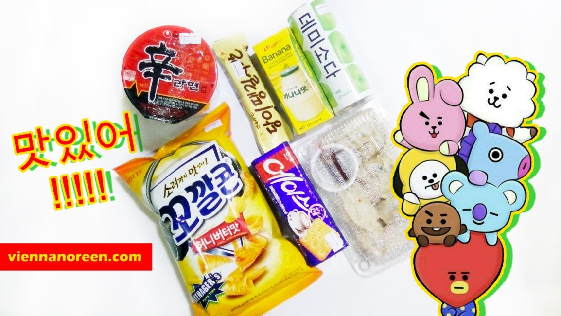 Korean Snacks forPHP500