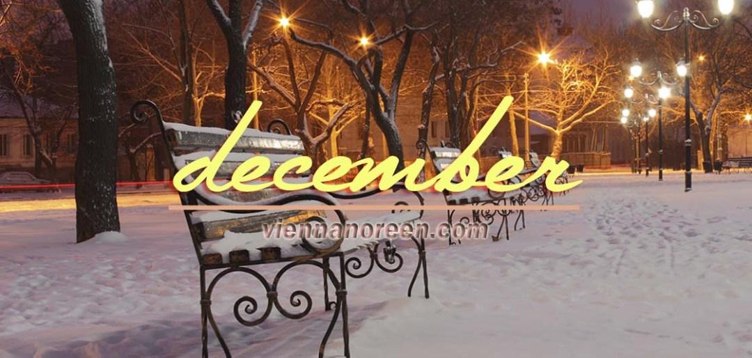 blogmas december