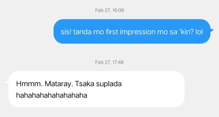 does first impression last