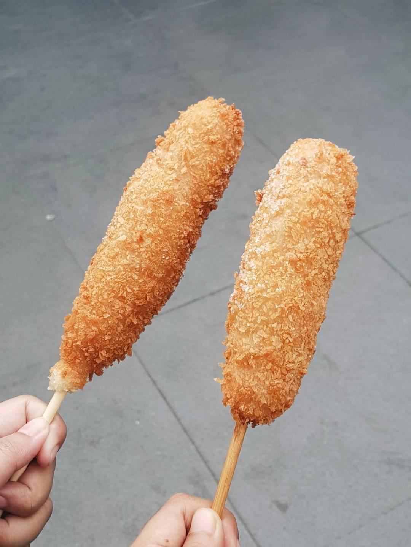 chung chun corndog