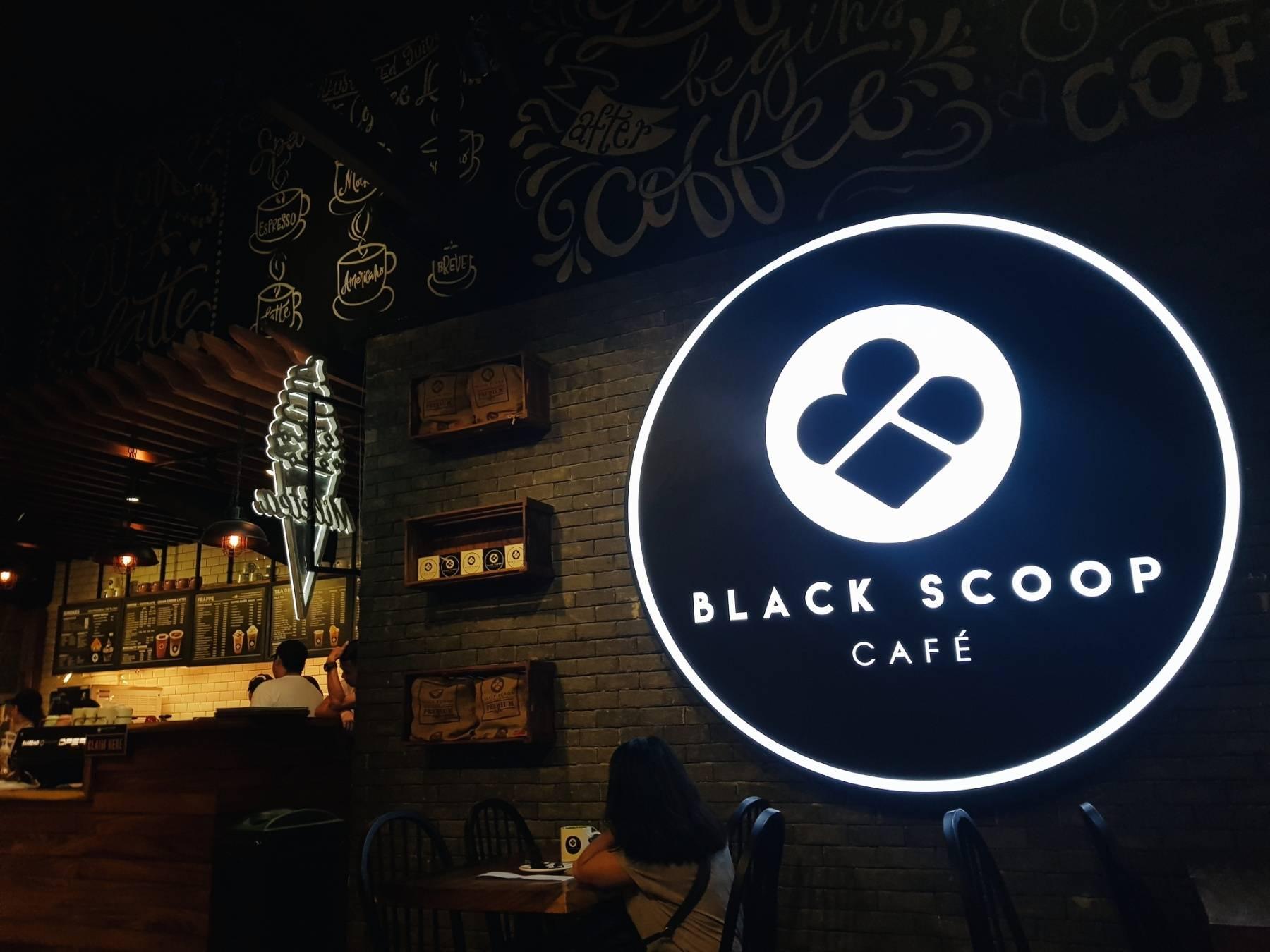 black scoop maginhawa