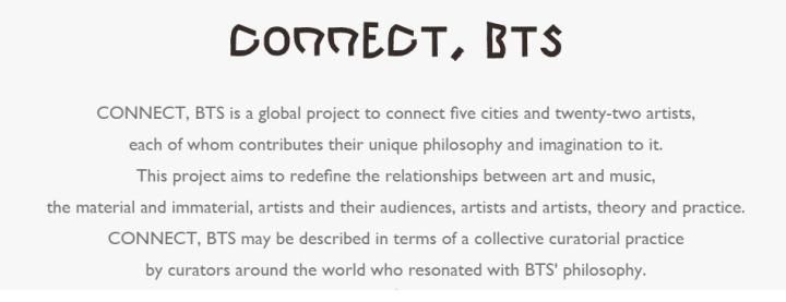 connect bts