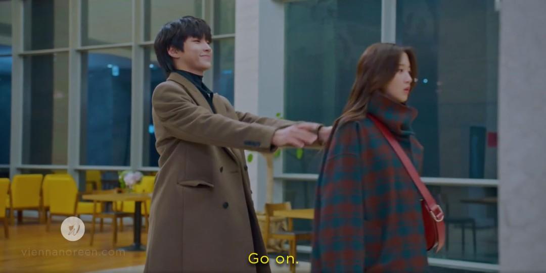 Seojun letting Jugyeong go
